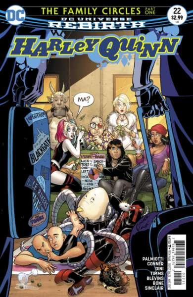 Harley Quinn (2016 series) #22, NM (Stock photo)