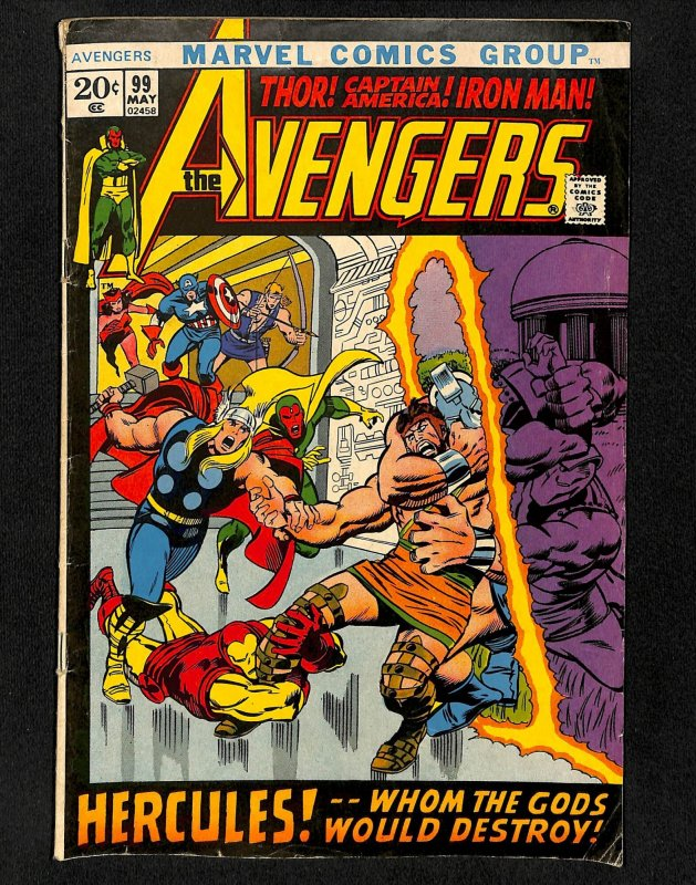 Avengers #99 Barry Smith!