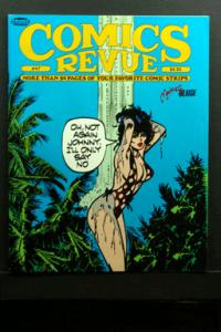 Comics Revue #47 1990 Modesty Blaise Cover