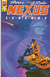NEXUS LEGENDS #1, VF, Steve Rude, Mike Baron, First, 1989 more Indies in store
