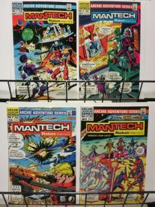 MANTECH ROBOT WARRIORS 1-4  ARCHIE's 'TRANSFORMERS' !?!