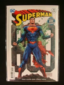 Superman #34 Tony Daniel Cover Celebrating 800 Issues DC NM Condition
