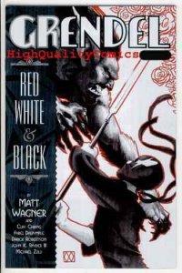 GRENDEL RED WHITE & BLACK #4, NM+, ,Matt Wagner, Chiang, more in store