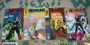 nomad #   1 2 3 4 vol 1+  1991 marvel + bucky  captain america