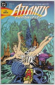 Atlantis Chronicles #7 of 7 David/Maroto, Aquaman spin-off