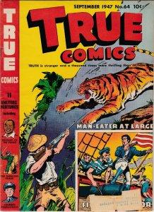 True Comics 64 VG/FN- (Sept. 1947)