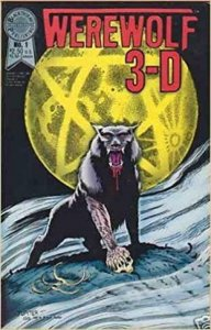 WEREWOLF 3-D #1, VF+, 1988, Don Marquez aka Jupiter, NO glasses