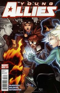 Young Allies #3 VF; Marvel | save on shipping - details inside