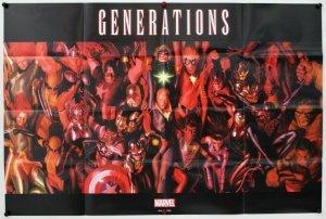 Marvel Generations 2017 Folded Promo Poster [P58] (36 x 24) - New!