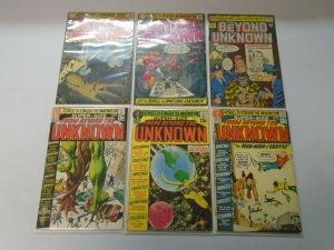 From Beyond the Unknown lot 17 different from #2-25 avg 4.0 VG (1970-73)