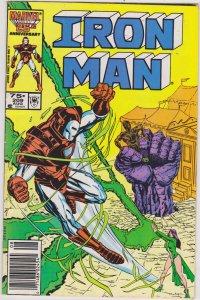 Iron Man #209