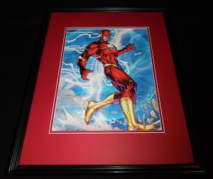 Flash 2015 DC New 52 Framed 11x14 Photo Poster B