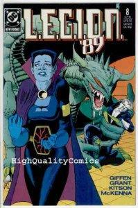 LEGION #8, NM+, Alan Grant,Keith Giffen, 1989, Dox, Lobo, Don't Look Back