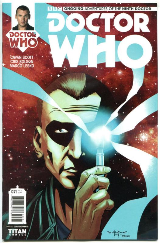 DOCTOR WHO #7 C, NM, 9th, Tardis, 2016, Titan, 1st, more DW in store, Sci-fi