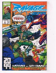 Ravage 2099 (1992) #3 Marvel Comic Book Stan Lee Hellrock DethstrykHH4 AD38