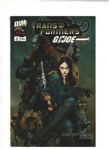 Transformers/G.I. Joe #3 FN/VF 7.0 Dreamwave Comics 2003