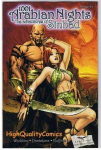 1001 ARABIAN NIGHTS #0 1 2 3 4 5, Sinbad, Zenescope, Grimm Fairy Tales, A, 0-5