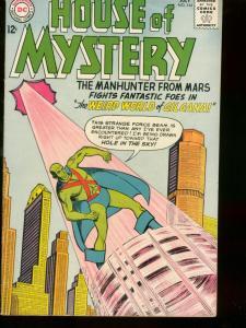 HOUSE OF MYSTERY #144 1964 DC COMICS MARTIAN MANHUNTER FN-