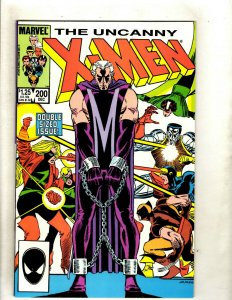 9 Uncanny X-Men Marvel Comics #200 205 206 207 208 209 215 216 219 Wolverine HJ9
