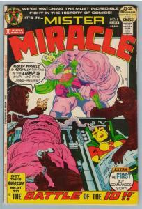 Mr. Miracle 8 Jun 1972 VF- (7.5)