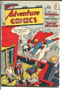 Adventure #127 1948-DC-Superboy-Green Arrow-Aquaman-Johnny Quick-G/VG