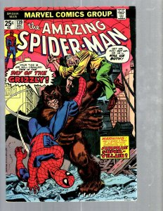 Amazing Spider-Man # 139 VF/NM Marvel Comic Book MJ Vulture Goblin Scorpion TJ1