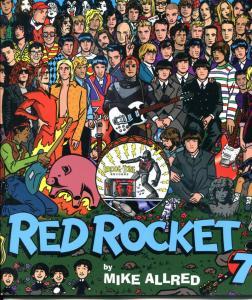 RED ROCKET 7 #1 2 3 4 5 6 7, NM, Magazine, 1997, Dark Horse, Mike Allred, 1-7