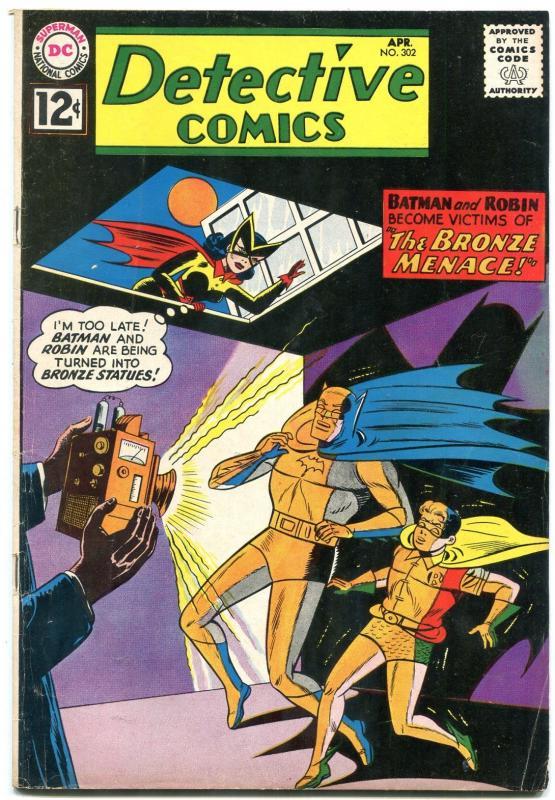 Detective Comics 302 1962 Batman Batwoman Dc Silver Age Vg Hipcomic