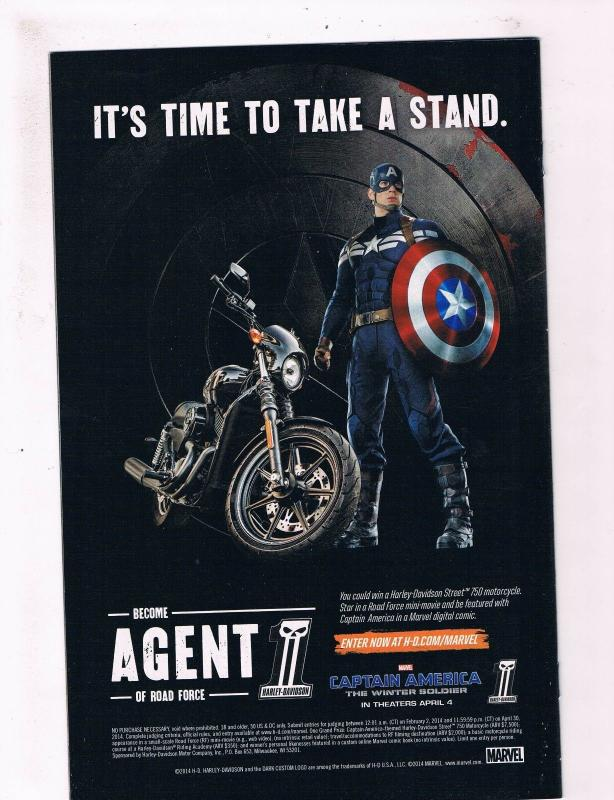 VF+ to NM 1st Print Marvel Now Avengers #4
