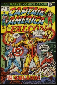 Captain America #160 VF+ 8.5 Marvel Comics