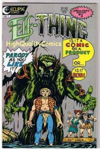 ELF-THING #1, VF/NM, Elfquest Parody, Marino, 1987, more indies in store