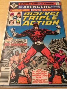 Marvel Triple Action #35 starring the Avengers