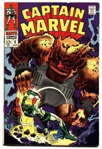 CAPTAIN MARVEL #6-1968-COSMIC MARVEL-vf-