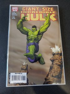 GIANT-SIZE INCREDIBLE HULK #1 ROGER STERN ZACH HOWARD CORY HAMSCHER NM 1ST PRINT