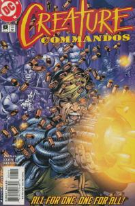 Creature Commandos #8 VF/NM; DC | save on shipping - details inside
