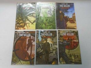 Killer Modus Vivendi set #1-6 8.0 VF (2010 Archaia Studios)