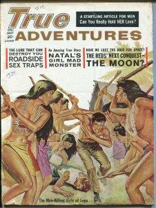True Action 6/1961-Laya Raki-Scilla Gabel-Sex Traps-Norman Saunders-FN