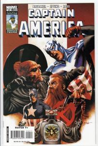 Captain America #42 (Nov-08) NM+ Super-High-Grade Captain America aka Bucky B...