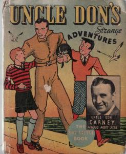 UNCLE DON'S STRANGE ADVENTURES-BIG LITTLE BOOK-WHITMAN VG