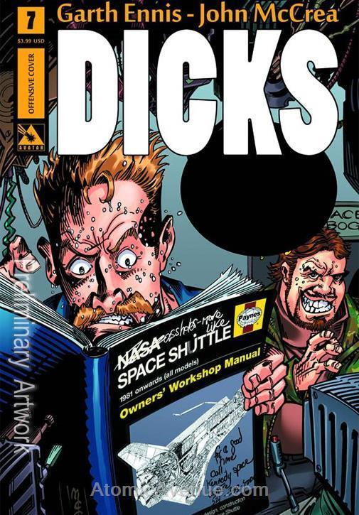 Dicks (2nd Series) #7A VF/NM; Avatar | save on shipping - details inside