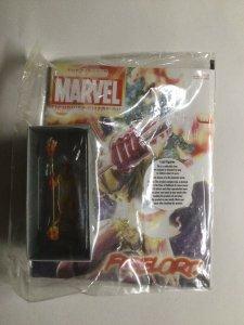 Firelord Lead Figure and magazine Marvel 2013 Eaglemoss