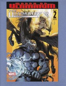 Ultimates 3 #2 VF/NM Michael Turner Thor Variant Cover Marvel 2008
