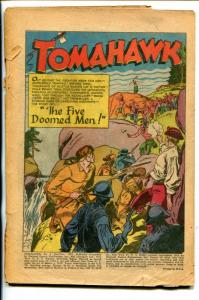 TOMAHAWK #9-1952-DC-WESTERN-COVERLESS-fr