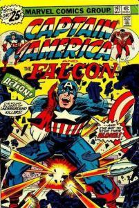 Captain America (1968 series) #197, VF- (Stock photo)