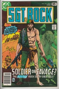 Sgt. Rock #318 (Jul-78) NM- High-Grade Sgt. Rock, Easy Co.