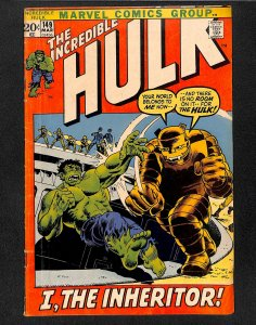 The Incredible Hulk #149 (1972)