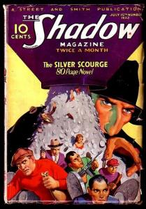 THE SHADOW-JUL 15 1933-SILVER SCOURGE-L@@K VG