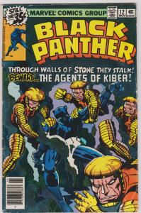 Black Panther #12 (GD 2) Jack Kirby
