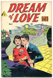 Dream of Love #1 1958- IW Romance- Bob Powell FN