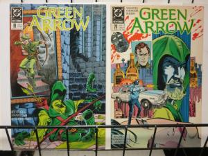 GREEN ARROW 19-20 TRIAL OF OLIVER QUEEN complete